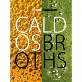 CALDOS El codigo del sabor BROTHS The code of flavour (espagnol - anglais)