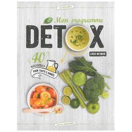Mon programme detox 40 recettes pour toute l 39 ann e for Livre cuisine detox