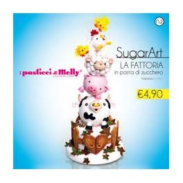 SUGARART n°2 LA FATTORIA IN PASTA DI ZUCCHERO (italien-anglais)