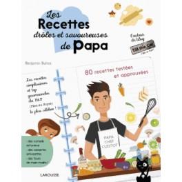 Les recettes droles et savoureuses de papa librairie gourmande - Recette de cuisine drole ...