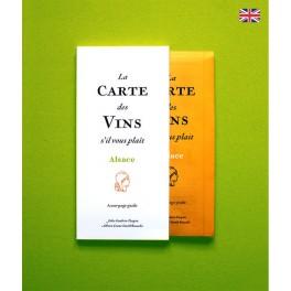 LA CARTE DES VINS S'IL VOUS PLAIT ALSACE (anglais)