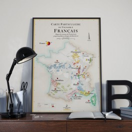 POSTER VIGNOBLE FRANCE (FRANÇAIS)