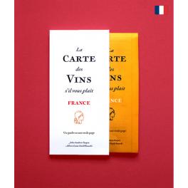 LA CARTE DES VINS S'IL VOUS PLAIT FRANCE