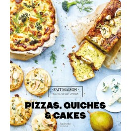 PIZZAS, QUICHES & CAKES