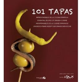 101 TAPAS (ESPAGNOL/ANGLAIS/FRANCAIS/ALLEMAND)