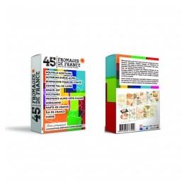 CARTES 45 FROMAGES DE FRANCE AOP