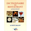 DICTIONNAIRE DU RESTAURANT (REEDITION)
