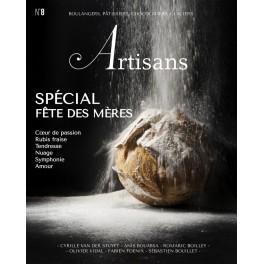 ARTISANS n°8 Boulangers, pâtissiers, chocolatiers, glaciers - Le magazine de Stéphane Glacier