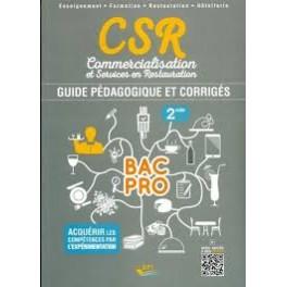 CSR COMMERCIALISATION ET SERVICES EN RESTAURATION 2nd BAC PRO