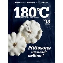180°C des recettes et des hommes volume 13 (été 2018)