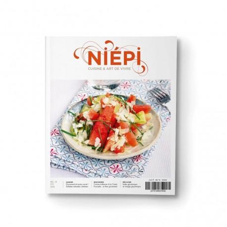 NIEPI Cuisine & art de vivre sans gluten Volume 16 Eté 2018