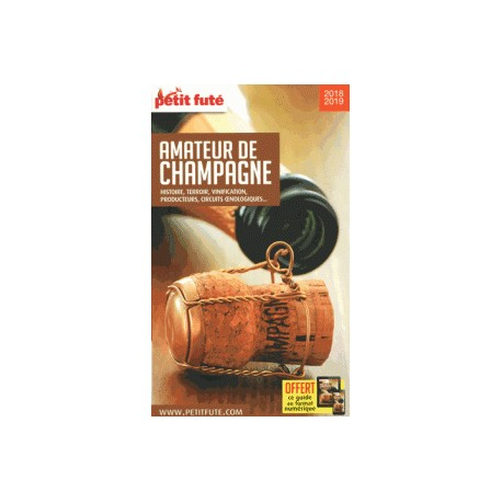 AMATEUR DE CHAMPAGNE PETIT FUTE 2018-2019