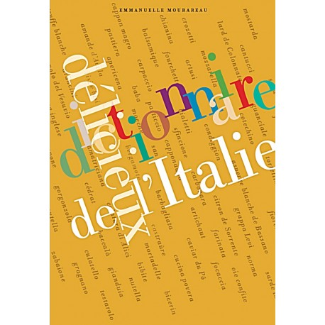 DICTIONNAIRE DELICIEUX DE L'ITALIE