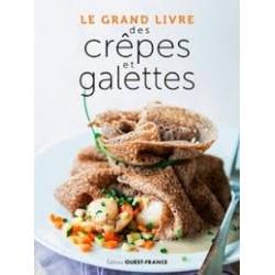LE GRAND LIVRE DES CREPES ET GALETTES