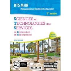 BTS MHR - SCIENCES ET TECHNOLOGIES DES SERVICES EN RESTAURATION EN HEBERGEMENT
