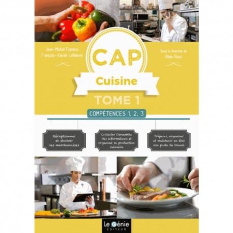 CAP CUISINE TOME COMPETENCES 1, 2, 3