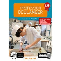PROFESSION BOULANGER CAP