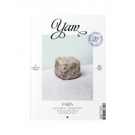 YAM LE MAGAZINE DES CHEFS N° 51 OCTOBRE NOVEMBRE 2019