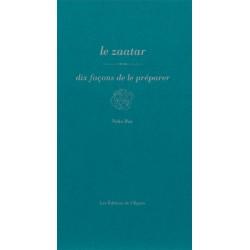 LE ZAATAR-DIX FACONS DE LE PREPARER