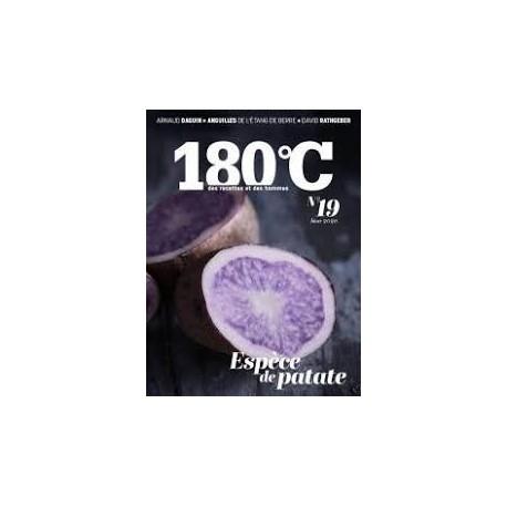 180°C des recettes et des hommes volume 19 (hiver2020)