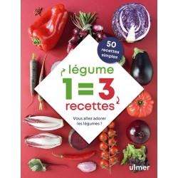 1 LEGUME : 3 RECETTES - Vous allez adorer les légumes