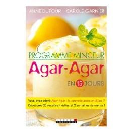 PROGRAMME MINCEUR AGAR-AGAR EN 15 JOURS