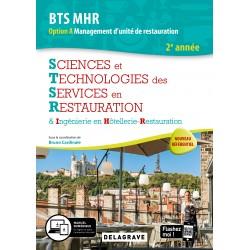 BTS MHR: SCIENCES ET TECHNOLOGIES CULINAIRES 2ème année OPTION A management d'unité de restauration