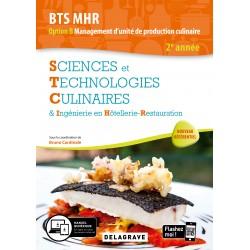 BTS MHR: SCIENCES ET TECHNOLOGIES CULINAIRES 2ème année OPTION B management d'unité de production culinare