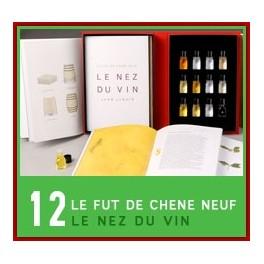 LE NEZ DU VIN: LE FÛT DE CHÊNE NEUF12 arômes (FRANÇAIS)