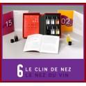 LE NEZ DU VIN: LE CLIN DE NEZ 6 arômes (FRANÇAIS)