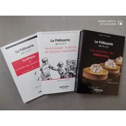 LA PATISSERIE DE A A Z (3 VOLUMES) REUSSIR SON CAP