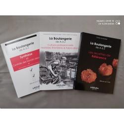 LA BOULANGERIE DE A A Z (3 VOLUMES) REUSSIR SON CAP