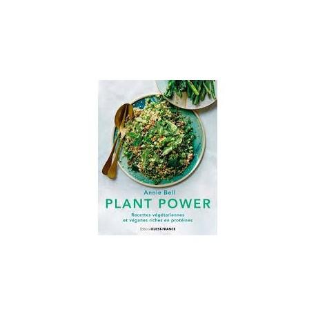PLANT POWER, recettes végétariennes et véganes riches en protéines