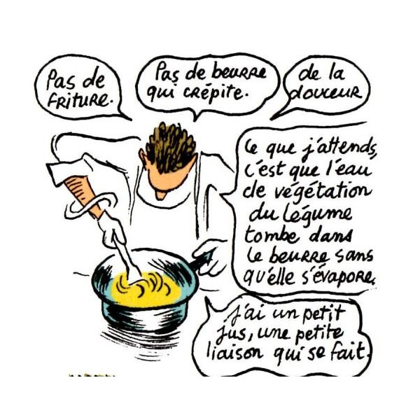 En cuisine avec alain passard librairie gourmande for Cuisinier humour