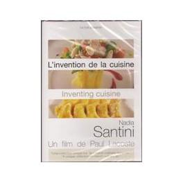 L'INVENTION DE LA CUISINE NADIA SANTINI FRANCAIS-ANGLAIS