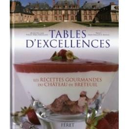 TABLES D'EXCELLENCES LES RECETTES GOURMANDES DU CHÂTEAU DE BRETEUIL