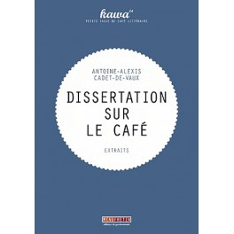 DISSERTATION SUR LE CAFE
