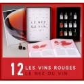 LE NEZ DU VIN : VINS ROUGES 12 arômes (FRANÇAIS)