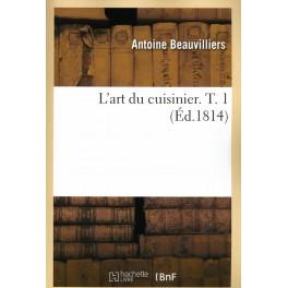 L'ART DU CUISINIER TOME 1