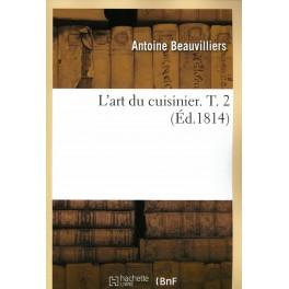 L'ART DU CUISINIER TOME 2