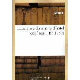 LA SCIENCE DU MAÎTRE D'HÔTEL CONFISEUR