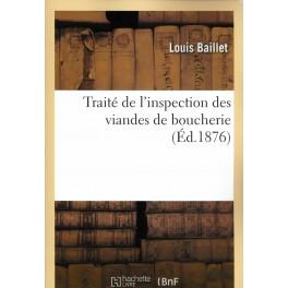 TRAITÉ DE L'INSPECTION DES VIANDES DE BOUCHERIE
