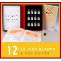 LE NEZ DU VIN: VINS BLANCS ET CHAMPAGNES 12 arômes (FRANÇAIS)