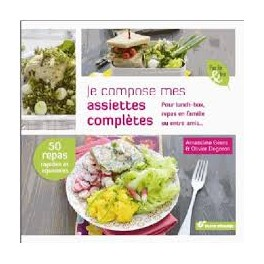 Je compose mes assiettes complètes pour lunch-box, repas en famille ou entre amis...