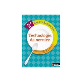 technologie de service 2e bac pro restaurant librairie