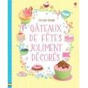 GATEAUX DE FETES JOLIMENT DECORES