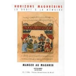 HORIZONS MAGHREBINS MANGER AU MAGHREB