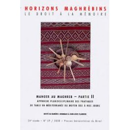 HORIZONS LOINTAINS MANGER AU MAGHREB PARTIE II