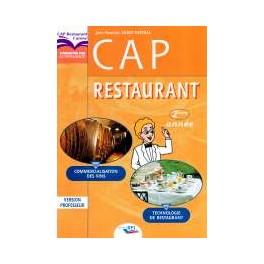 Cap restaurant version eleve 2eme annee librairie - Referentiel cap cuisine ...