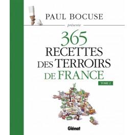 365 RECETTES DES TERROIRS DE FRANCE - TOME 2